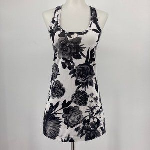 Lululemon Womens Top Cool Racerback Tank Floral